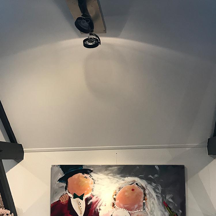 Agnietenberg - Schilderij